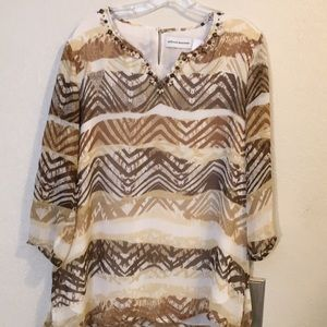 Alfred Dunner  la ladies blouse   12